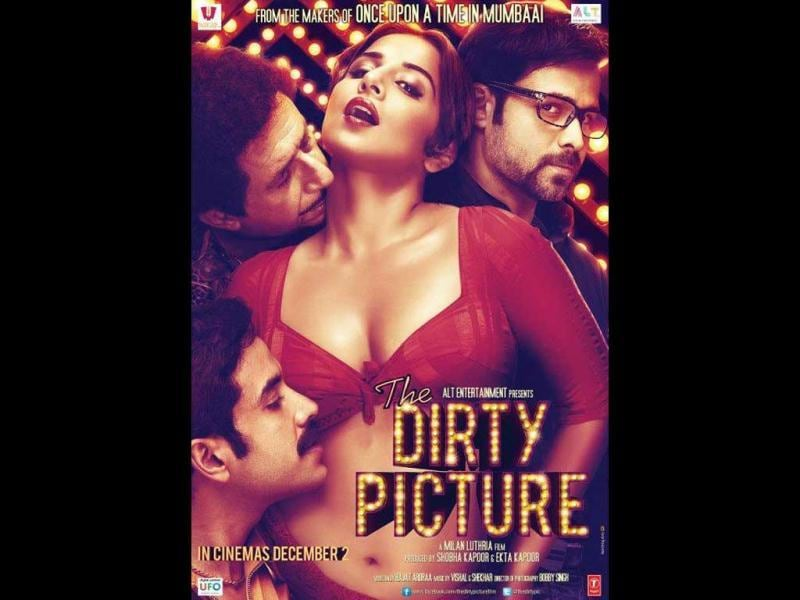 Vidya Balan was seen romancing three men- Tusshar Kapoor, Naseeruddin Shah and Emraan Hashmi- in The Dirty Picture.