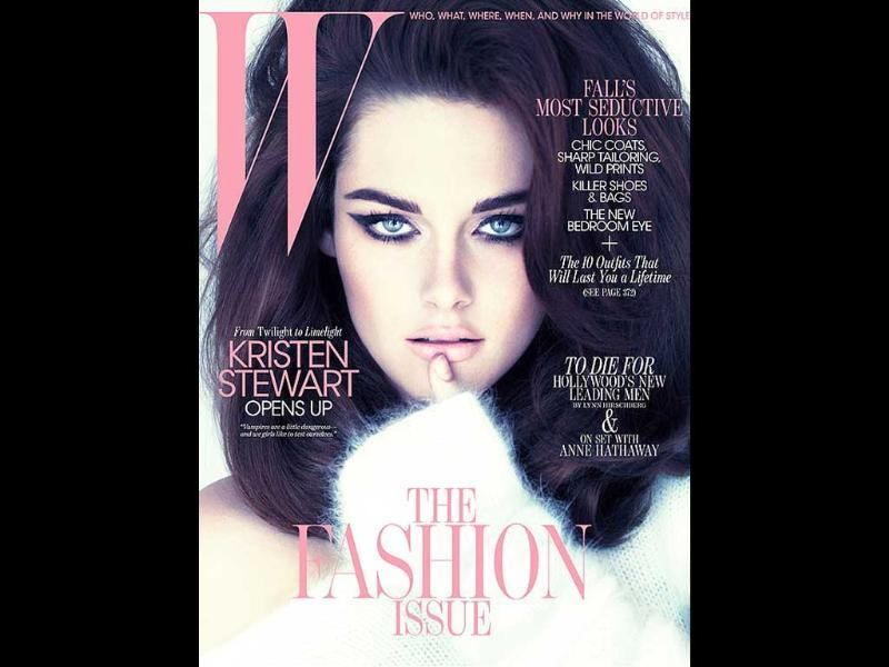 W Magazine: Kristen StewartWith the strong eyebrows and expressive eyeliner, Stewart does a Liz Taylor.
