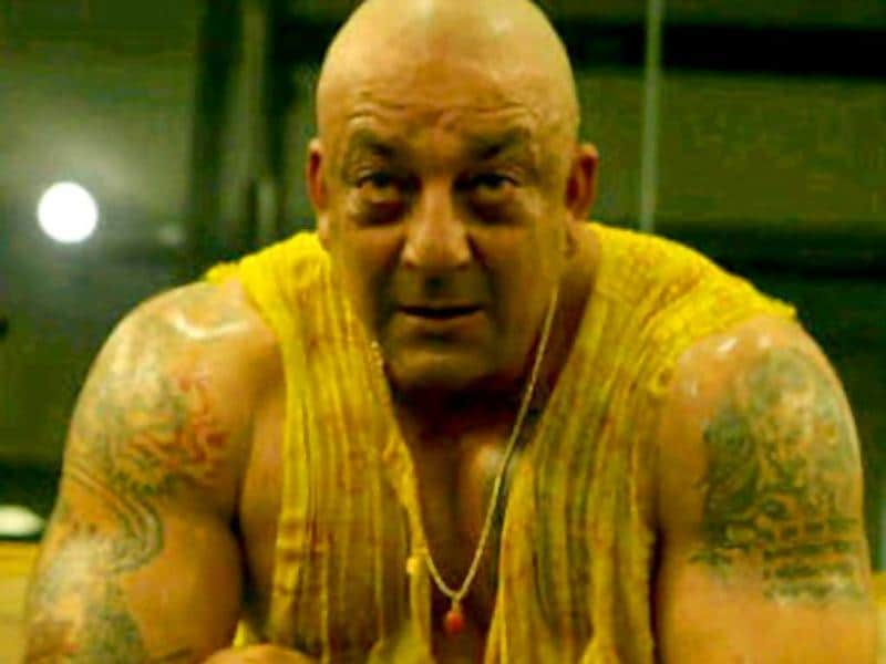 Sanjay Dutt has beefed up for this role and will sport tattoos.