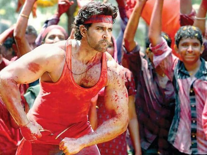 Hrithik Roshan played Vijay Dinanath Chauhan in the remake of Agneepath.