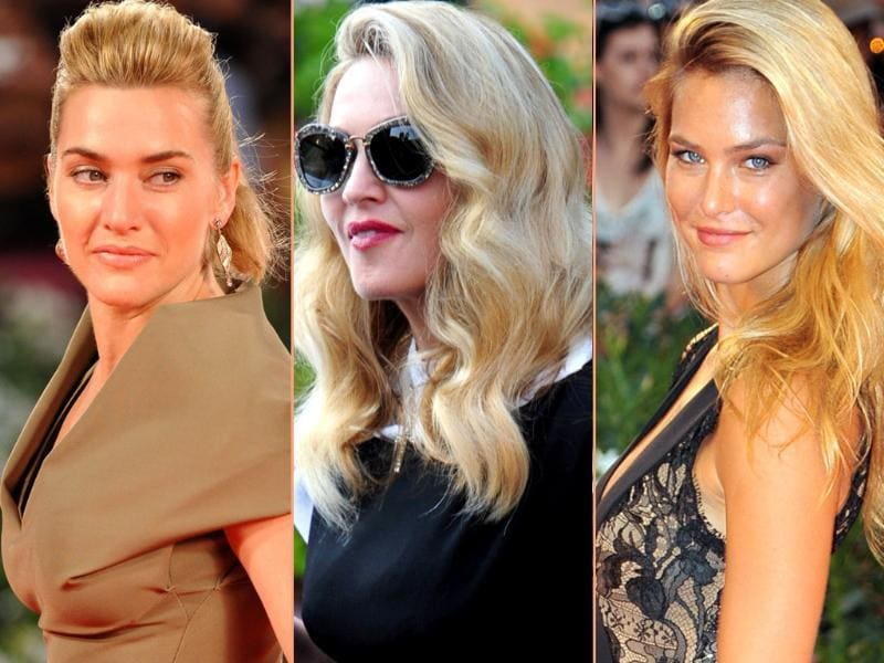 Madge boards a motoboat, Kate Winslet wears a daring victoria Beckham dress and Bar Rafaelli shows what it takes to be a Sports Illustrated cover girl. Here's some action from 68th Venice Film Festival.