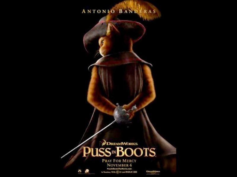 Puss in Boots: A story of a sword-wielding cat's meeting with Shrek and his friends.
