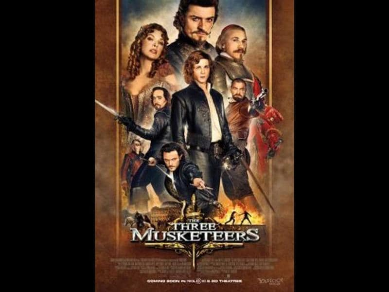 The Three Musketeers: A 3D version of Alexandre Dumas' classic novel.