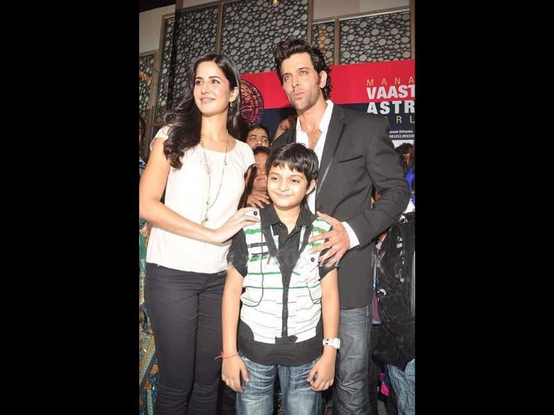 Hrithik Roshan and Katrina Kaif would be doing a cameo appearance in Rajeev Ruia's upcoming animation movie Main Krishna Hoon. Check out pics from the music launch.