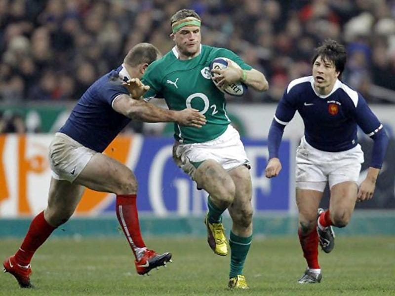 Jamie Heaslip is a Leinster & Irish rugby union player. Heaslip was nominated for the IRB Under-21 World Player of the Year award.