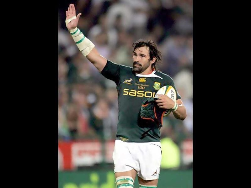 Victor Matfield is a South African rugby player and is generally considered one of the best locks in the world.