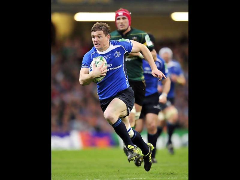 Brian O'Driscoll is an Irish professional rugby union player. He is the current captain of the Ireland Rugby team. O'Driscoll was chosen as Player of the Tournament in the 2006, 2007 and 2009 RBS Six Nations Championships.