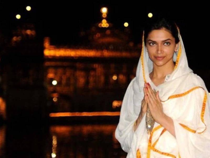 Actor Deepika Padukone gets pious as she visits the Golden Temple in Amritsar to offer her prayers. Here's a look at the actress' second sacred journey in the week.