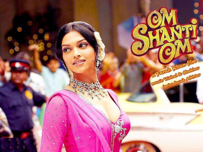 Deepika Padukone played a yesteryear actress in her debut film Om Shanti Om.