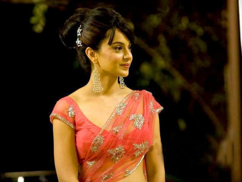 Kangna Ranaut portrayed a retro actor in Once Upon A Time In Mumbai.