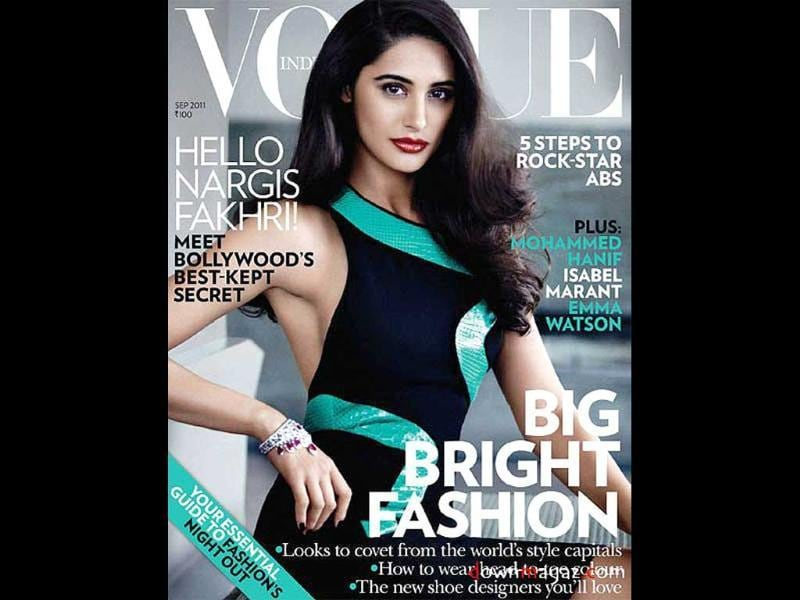 Nargis Fakhri graces the cover of Vogue India. In a tell-all interview inside, the actor opens up about her life and career.