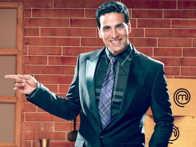 After bringing his action image to small screen with Khatron Ke Khiladi, Akshay Kumar displayed his culinary skills by hosting Masterchef India Season 1.