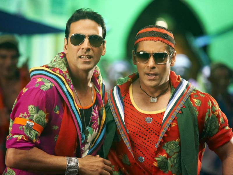 Salman Khan and Akshay Kumar have done films like Mujhse Shaadi Karogi and Jaan-e-man together.