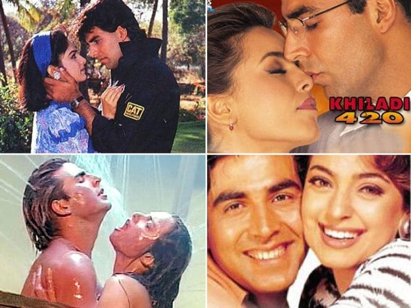 Akshay Kumar is best known for his action films. He has done some memorable Khiladi films like Khiladi, Khiladiyon Ke Khiladi, Mr and Mrs Khiladi and Khiladi 420.