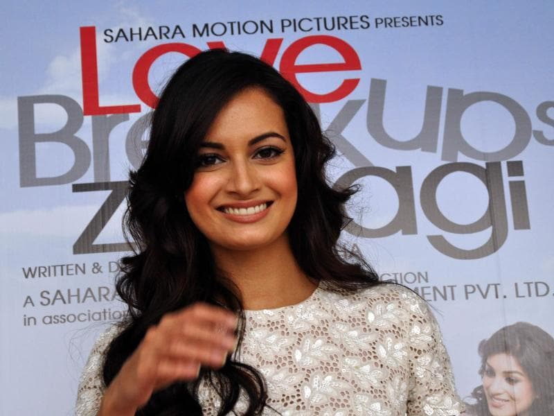 Dia Mirza was last seen in films like Hum Tum Aur Ghost and Acid Factory.