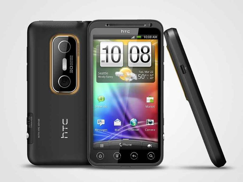 HTC Evo 3D (MRP - Rs 34,999)Competing head to head with the LG Optimus 3D, the Evo 3D houses an Adreno 220 GPU, 1.2 GHz dual core Snapdragon processor and 1 GB RAM. The phone has not just a 3D display, but also sports two 5MP cameras for amazing 3D video recording.
