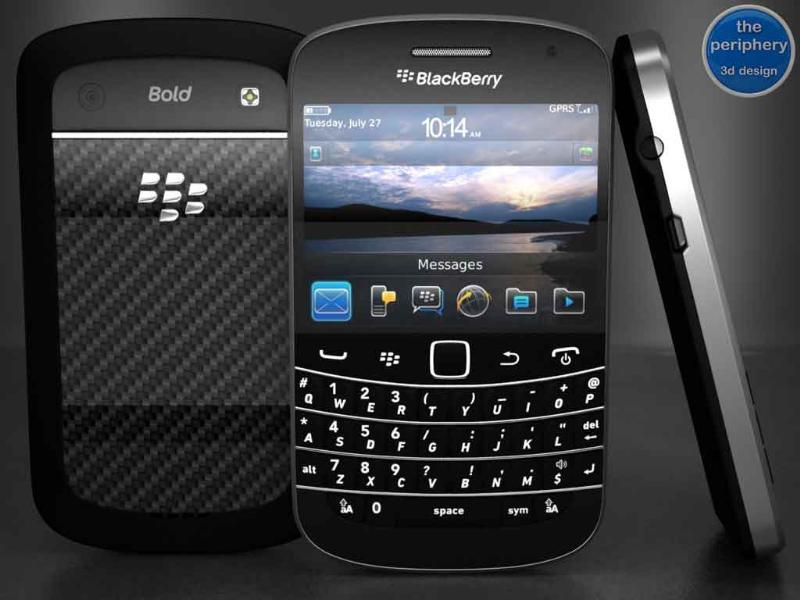 Blackberry Bold 9900 (MRP - Rs 32,290)This was the first BB OS 7 device launched by RIM and many stores are already struggling to keep up with the demand. Packed with 1.2 GHz processor & 768 MB of RAM, this is one of the best touch screen phones RIM has ever produced.