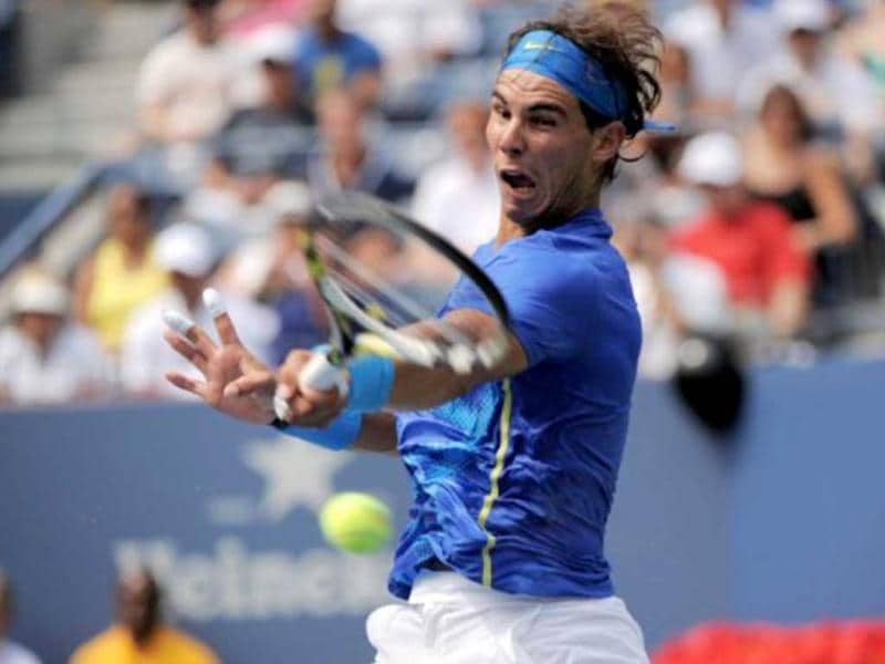 Rafa reached last 16 after a 7-6 (7/5), 6-1, 7-5 victory over close friend David Nalbandian.