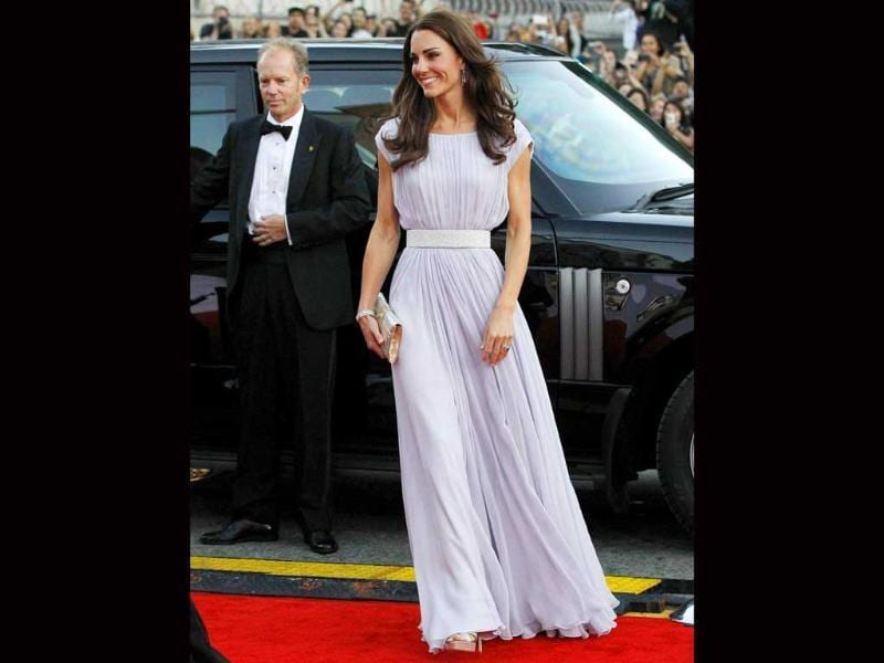 Partial to Alexandre McQueen, who also designed her wedding dress, Kate wore the designer at BAFTA 2011.