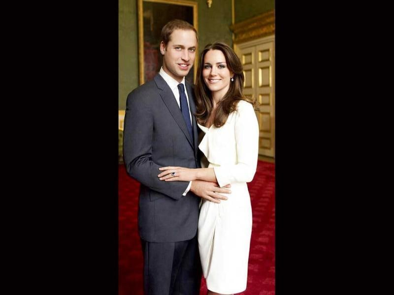 Duke of Cambridge Prince William with Duchess Kate