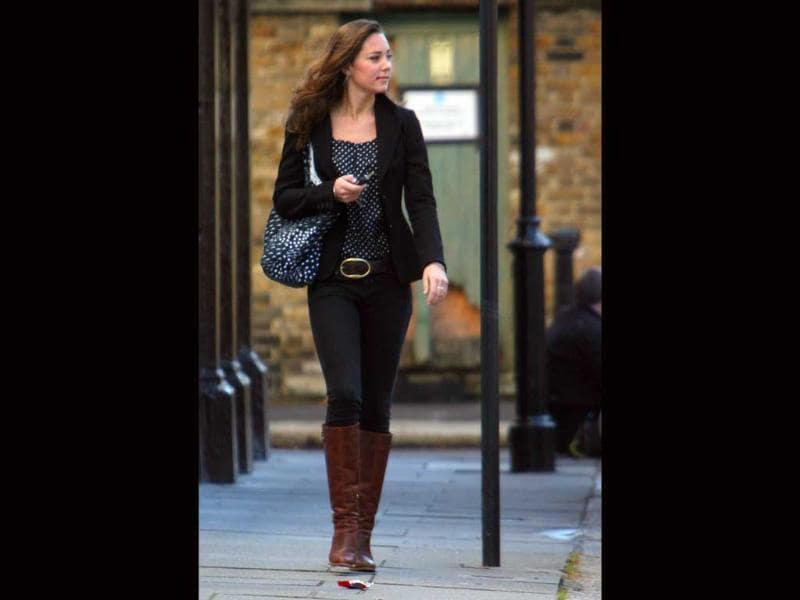 26-year-old Duchess of Cambridge Kate Middleton has been praised for wearing affordable Main Street labels.