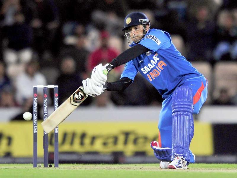 India's final and fifth ODI against England at Cardiff marked the end of Rahul Dravid's ODI career.