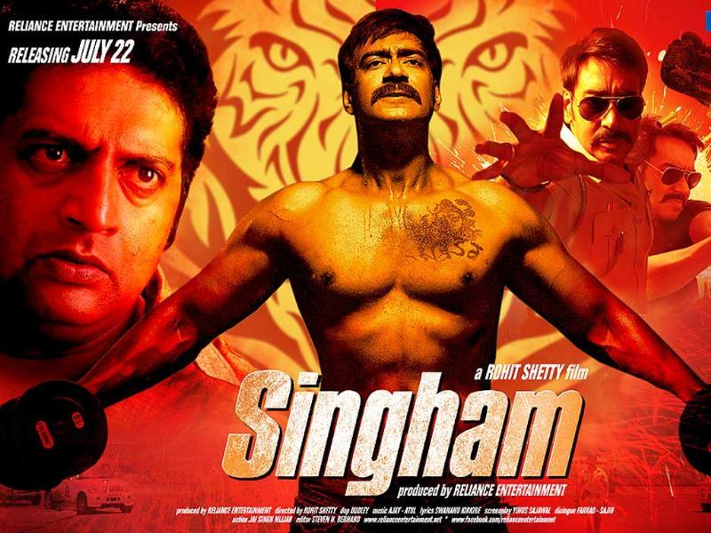 Ajay Devgn starrer Singham has collected Rs 100 crore recently.