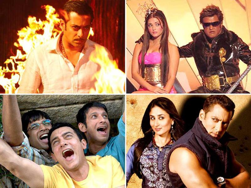 Salman Khan is the undisputed king of Bollywood's 100 crore club with his three movies entering the league - latest one being Bodyguard. Aamir is also not much behind. But there are few new entrants. Check out the movies who are part of this group.