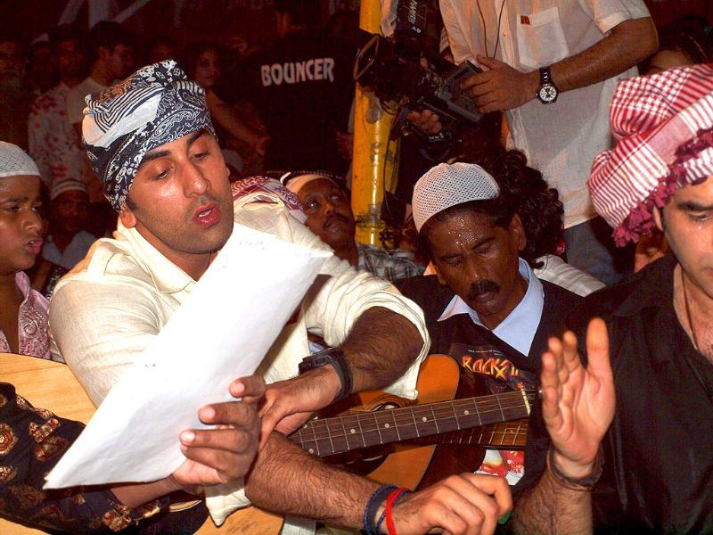 Ranbir stayed there for a couple of days while shooting for the qawwali scene in the film that features the Dargah.