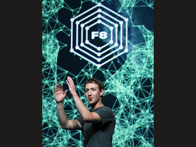 Facebook CEO Mark Zuckerberg delivers a keynote address during the Facebook f8 conference on September 22, 2011 in San Francisco, California. Facebook CEO Zuckerberg kicked off the conference introducing a Timeline feature to the popular social network.