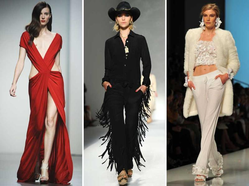 From frilly dresses to cowboy glam, fashion forecast is back with fresh looks for the season. We bring you the best looks hot off the international ramps.