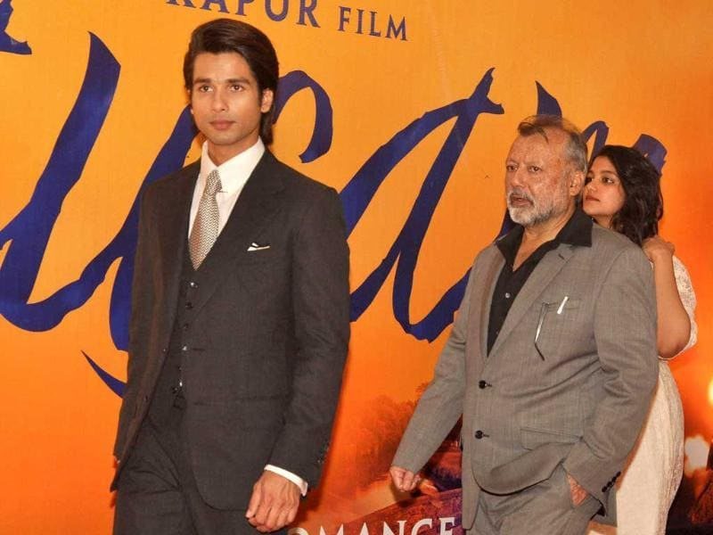 Shahid Kapoor is excited to be part of his father Pankaj Kapur's debut film Mausam. (AFP)