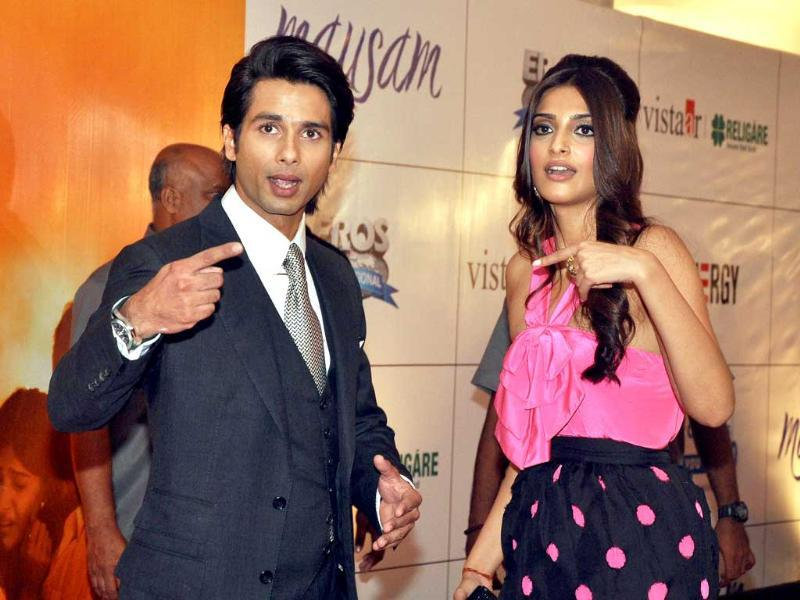 Who did it: Not me, say Sonam and Shahid (AFP)