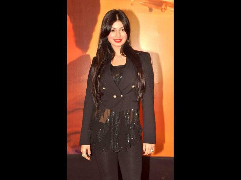 Back to limelight: Ayesha Takia dazzles in Black. (AFP)