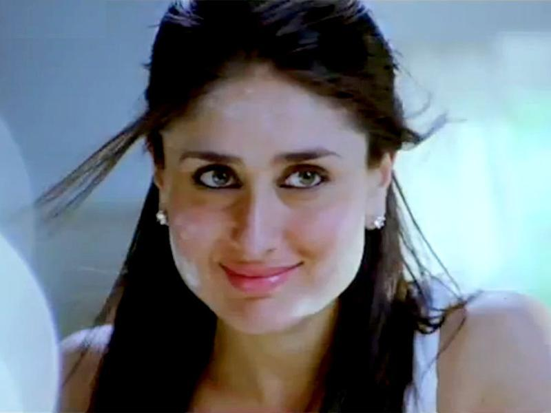 Kareena plays SRK's wife and a mom in the film.
