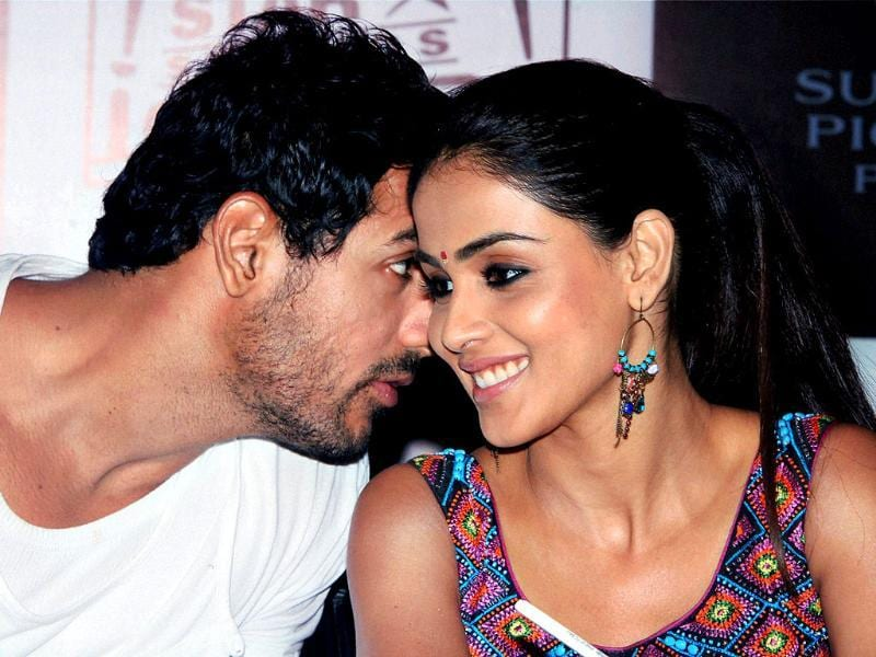John Abraham and Genelia D'Souza are all set to heat up the big screen with their sizzling chemistry in Force. Here's the duo promoting the film.