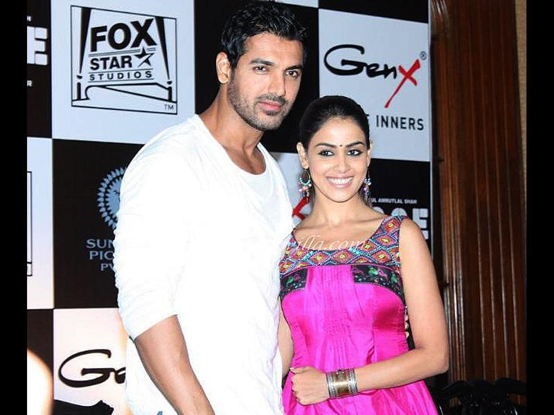 John and Genelia will be seen together for the first time in Force.