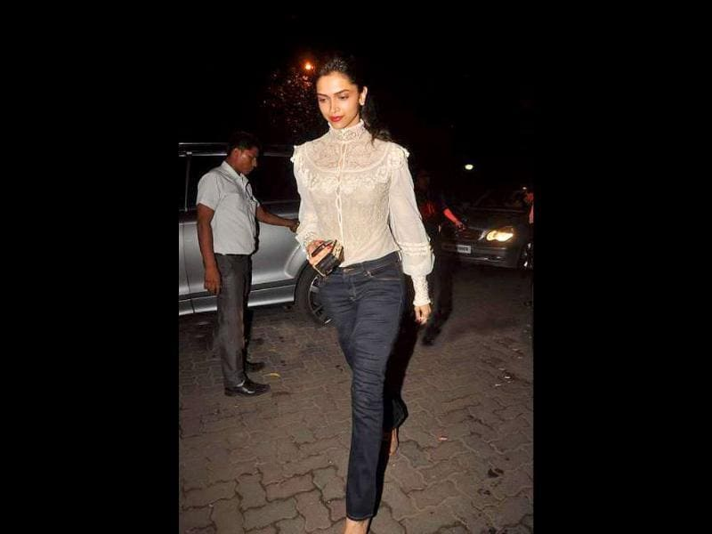 Even a fashion diva like Deepika Padukone can go wrong with her choice of outfit sometimes. What's your take?