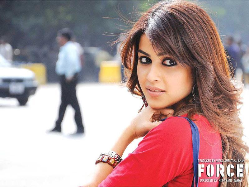 Genelia has come out of her girl-next-door image with this movie.