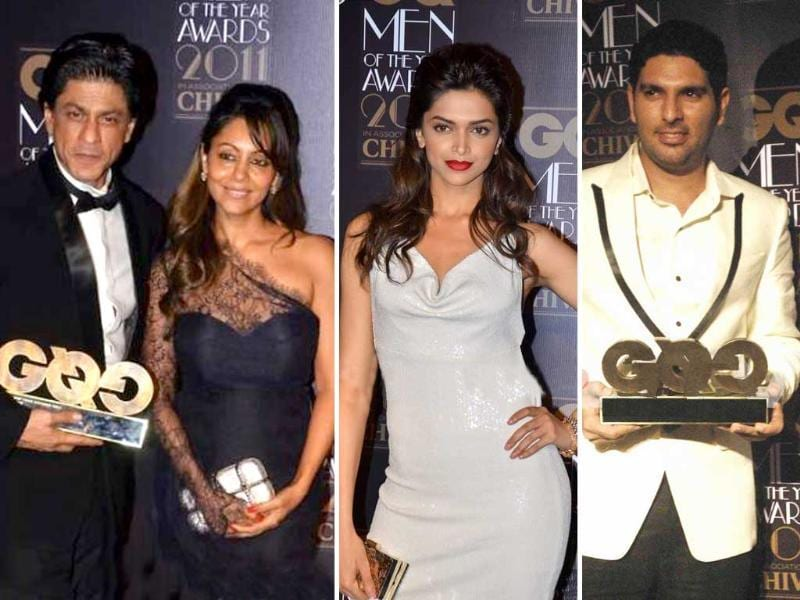 B-Town glitterati added oomph and glamour at the recently held GQ Men of the Year Awards. Check out the style packed event. Follow us at @htShowbiz for more Bollywood buzz.