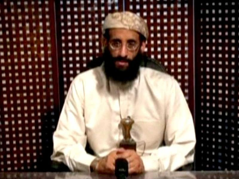 File photo of Anwar al-Awlaki, a US-born cleric linked to al Qaeda's Yemen-based wing.