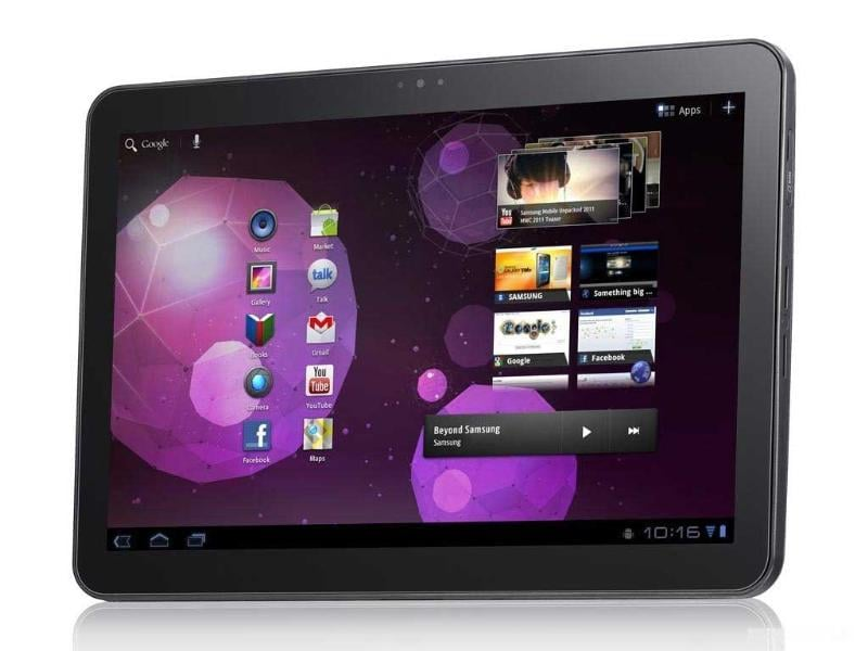Samsung Galaxy Tab 750 - Samsung has launched a 10-inch tablet this time that runs on Honeycomb. Superb build quality and upgraded TouchWiz made sure that the Galaxy Tab stayed a favorite among Android lovers.
