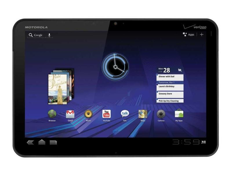 Motorola Xoom - The pioneer Honeycomb tablet. While it did not manage to enjoy as much success as the Samsung Galaxy Tab, it did show the road map to the rest in the market.