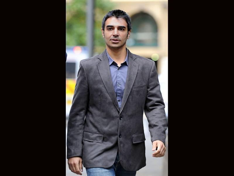 Former Pakistan cricket captain Salman Butt arrives at Southwark Crown Court in central London.