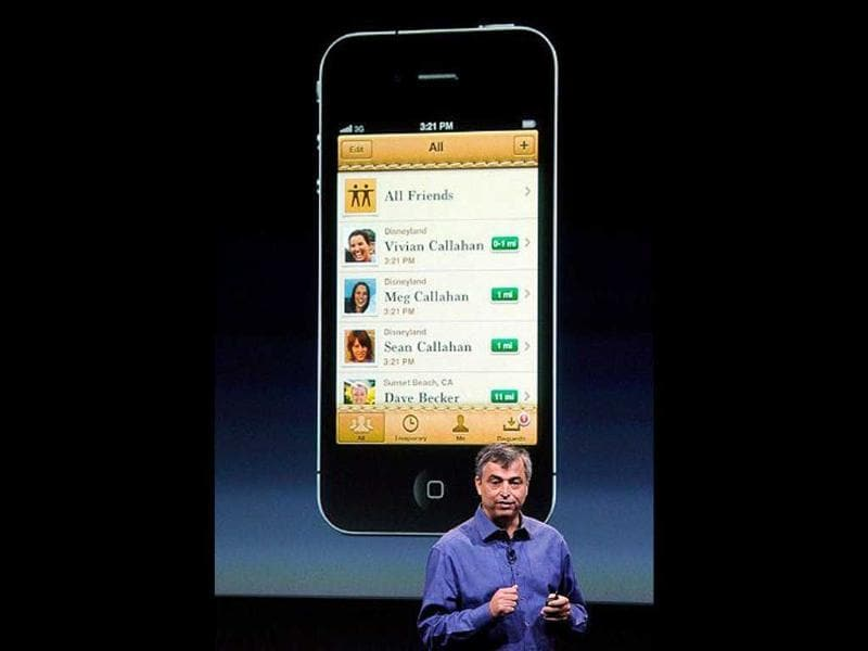 Apple's senior vice president of Internet Software and Services Eddy Cue speaks about the
