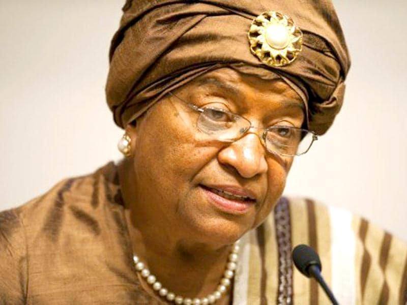 Liberia's President Ellen Johnson Sirleaf, is one of the top contenders for the Nobel Peace Prize.