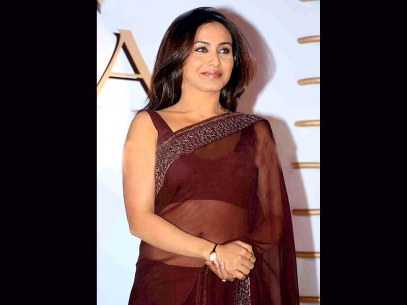 Rani looks classy as she launches Raga's Crystal collection.