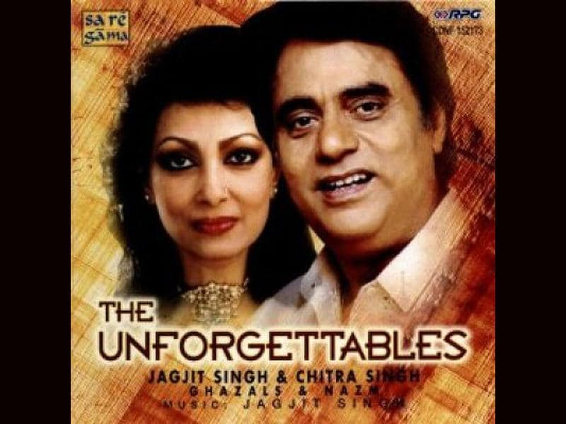 Jagjit and Chitra's album The Unforgettables is truly unforgettable.