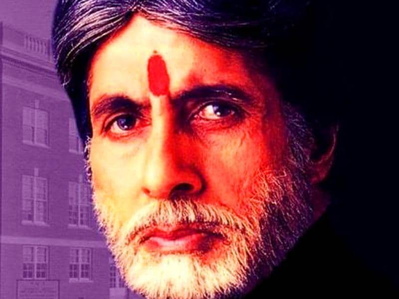 Amitabh Bachchan appeared after a short break in BO hit Mohabbatein where he played a stern college principal.