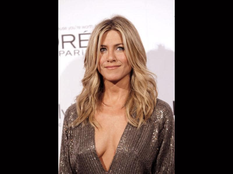 A closer look at Jennifer Aniston 'reveals' a lot more. (AP)
